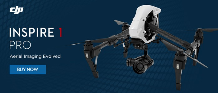 DJI Inspire 1 RTF Quadcopter with Zenmuse X5 Pro Camera