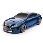 1/10 APEX Lexus RC F 4WD Touring Car Brushless RTR, Blue (ASC30118T1)