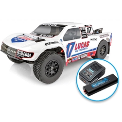 1/10 SC10.3 2WD SCT Brushless RTR LiPo Combo, Lucas Oil Edition (ASC7081C)