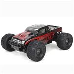 1/18 Ruckus 4WD Monster Truck RTR, Black/Red (ECX01000T1)