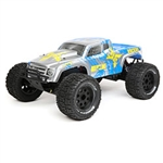 1/10 Ruckus 2WD Monster Truck Brushed with LiPo RTR, Silver/Blue (ECX03331T1)
