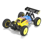 1/14 Mini 8IGHT 4WD Buggy Brushless RTR with AVC, Blue (LOS01004T1)