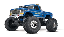 1/10 Bigfoot Classic 2WD Monster Truck Brushed RTR, Blue (TRA360341)