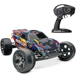 1/10 Rustler VXL 2WD Brushless RTR with TSM, Rock and Roll (TRA370764)