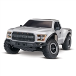1/10 2017 Ford Raptor 2WD Brushed RTR, Silver (TRA580941T4)